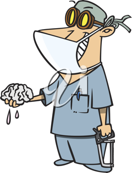 Royalty free image of. Clipart brain doctor
