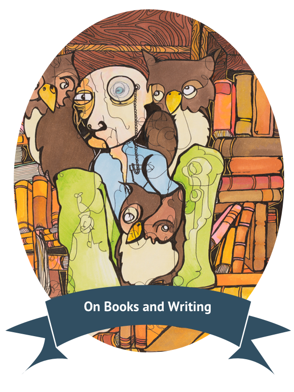 On books and writing. Poetry clipart classic literature
