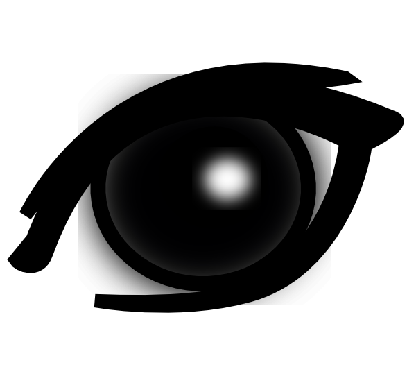 Eyes clipart side view. Eye clip art at