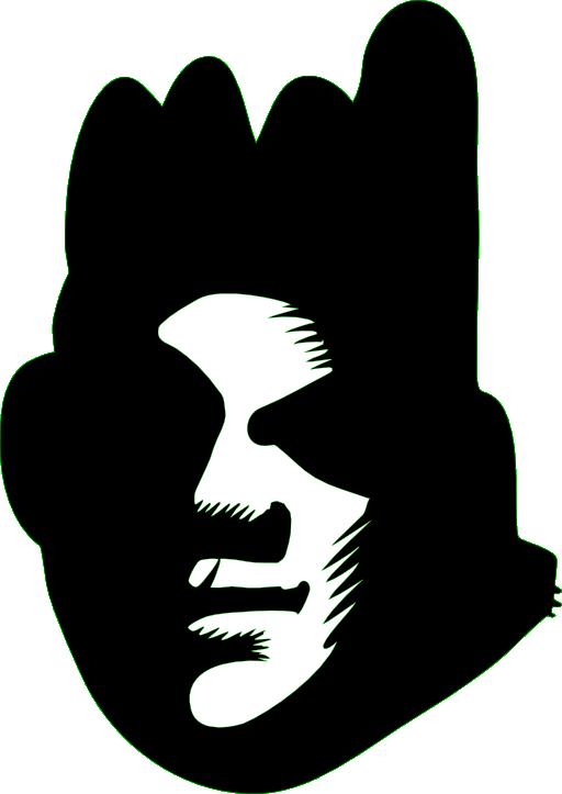 Graffiti clipart star. Black face i royalty