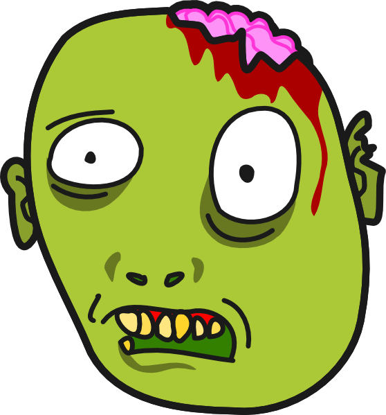 Clip art at clker. Zombie clipart public domain