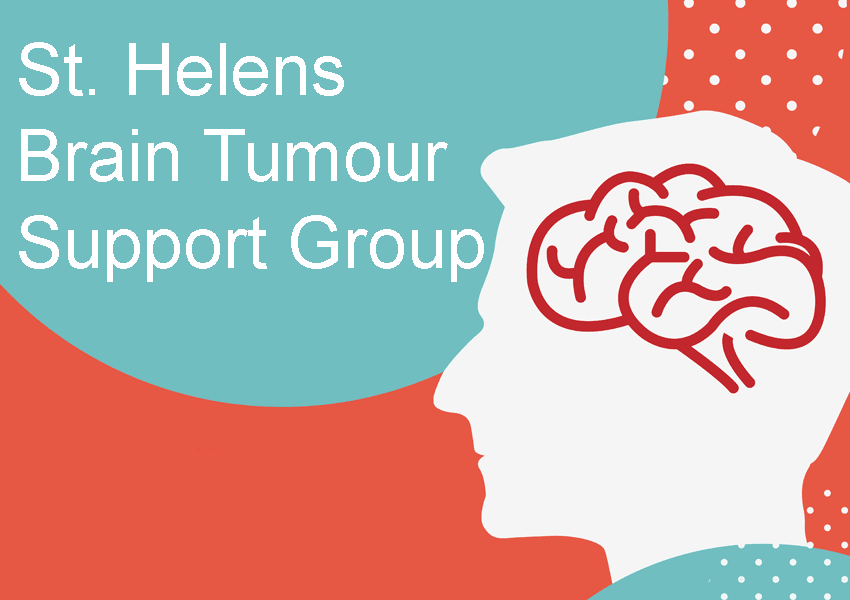 St helens tumour support. Clipart brain group