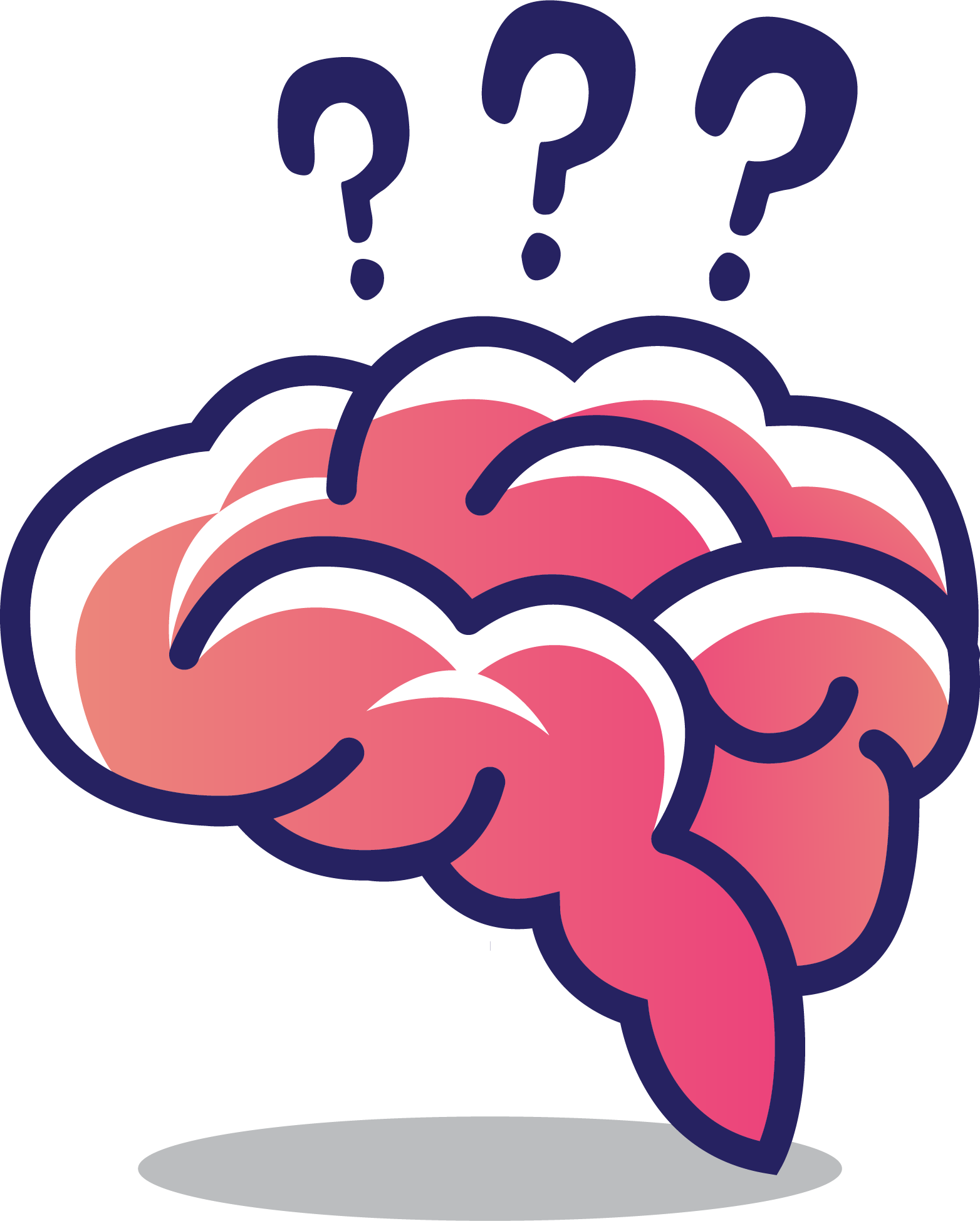 Brain cerebrum clip art. Thoughts clipart human thinking
