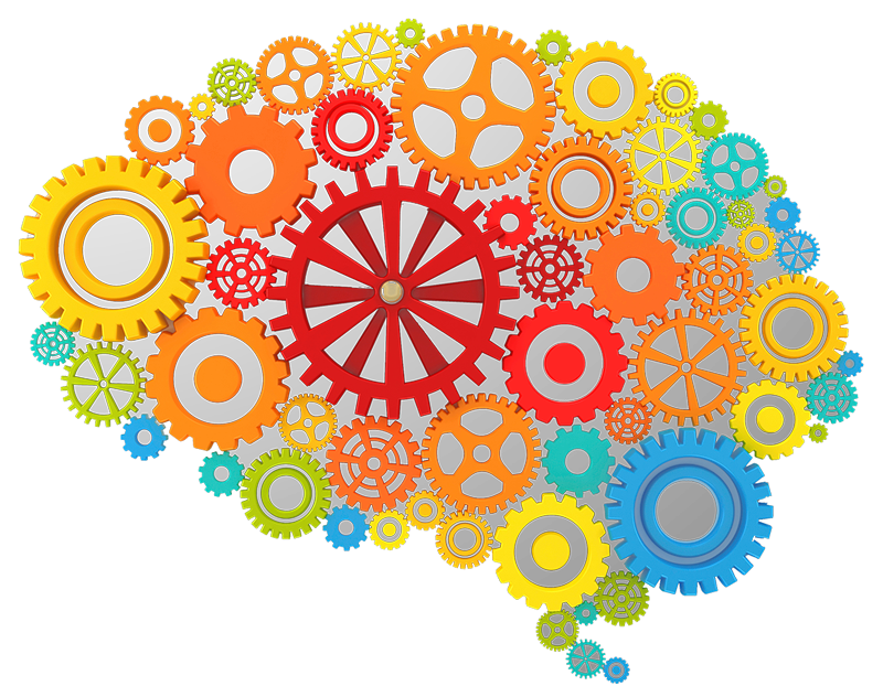 Clipart brain imagination. Knowledge pencil and in