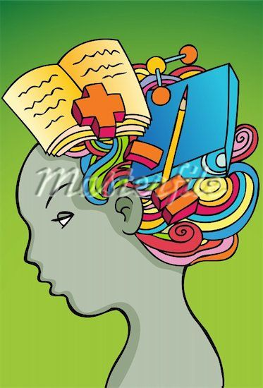 Thinking brain google search. Psychology clipart busy mind