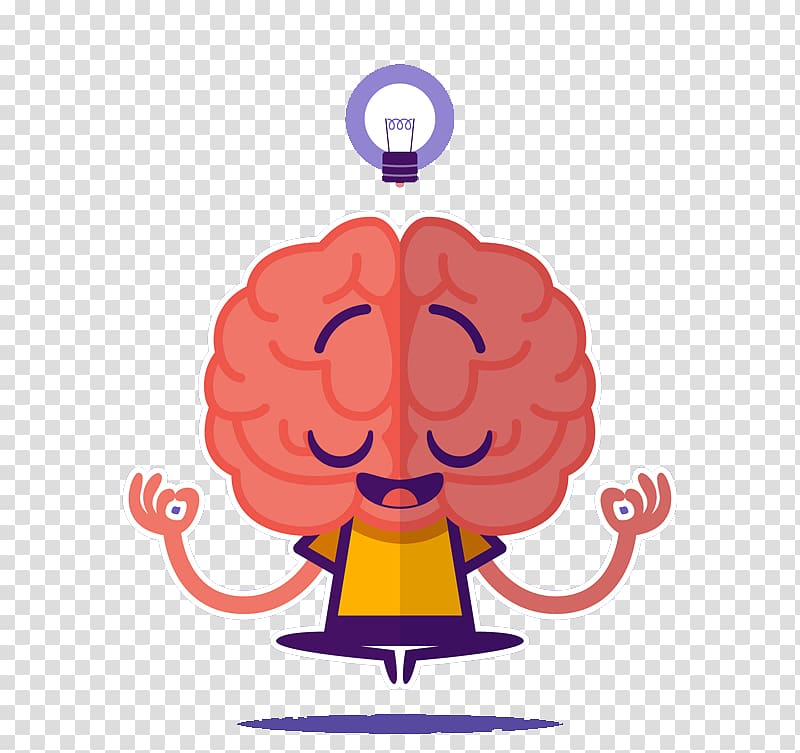 Clipart brain mind. With hands and foot