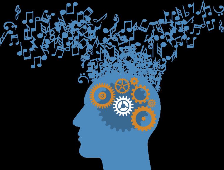 Clipart brain music. Advanced technologies creates the