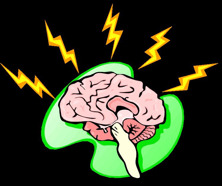 clipart brain overload
