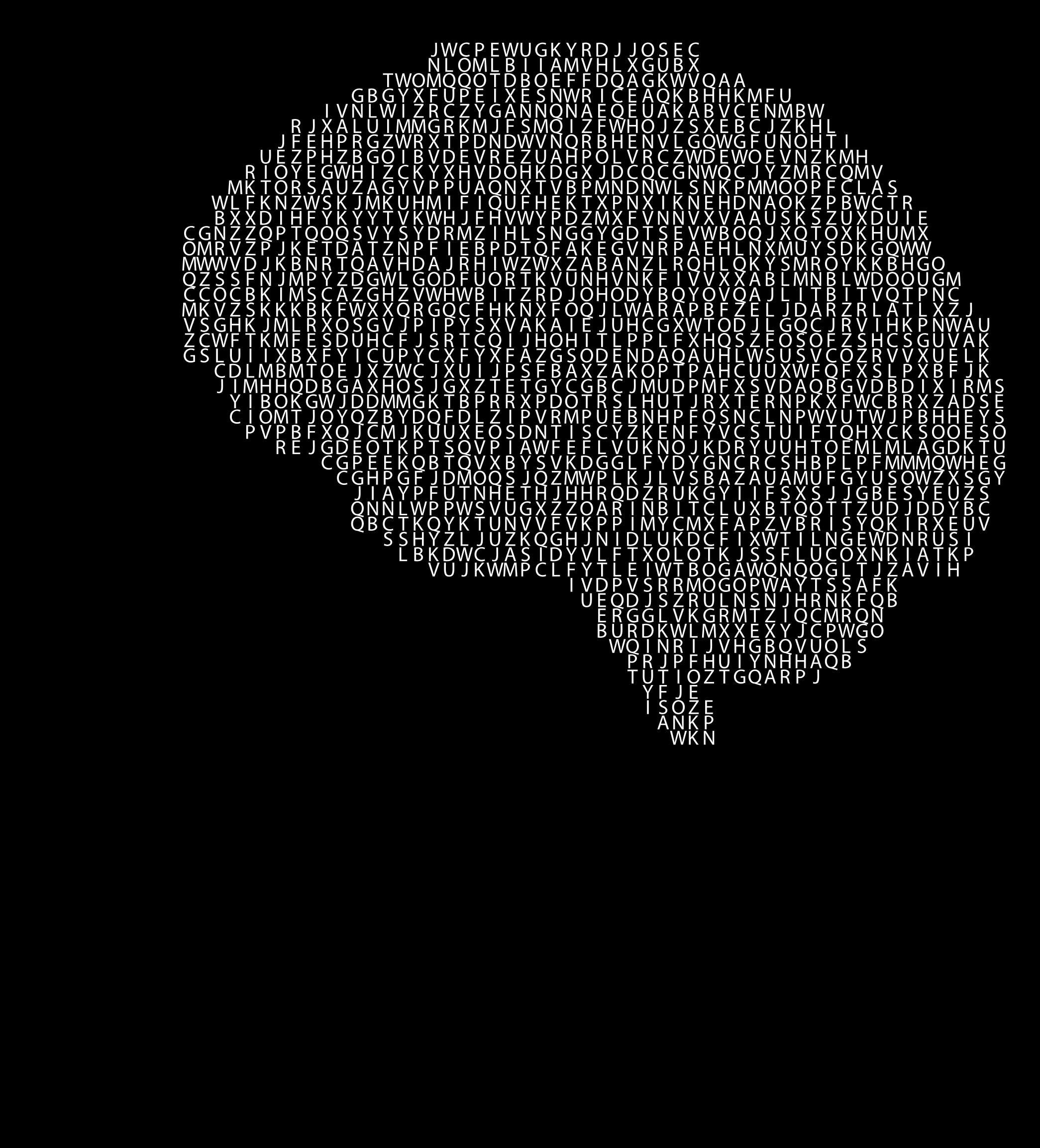 Alphabet man silhouette big. Clipart brain pdf