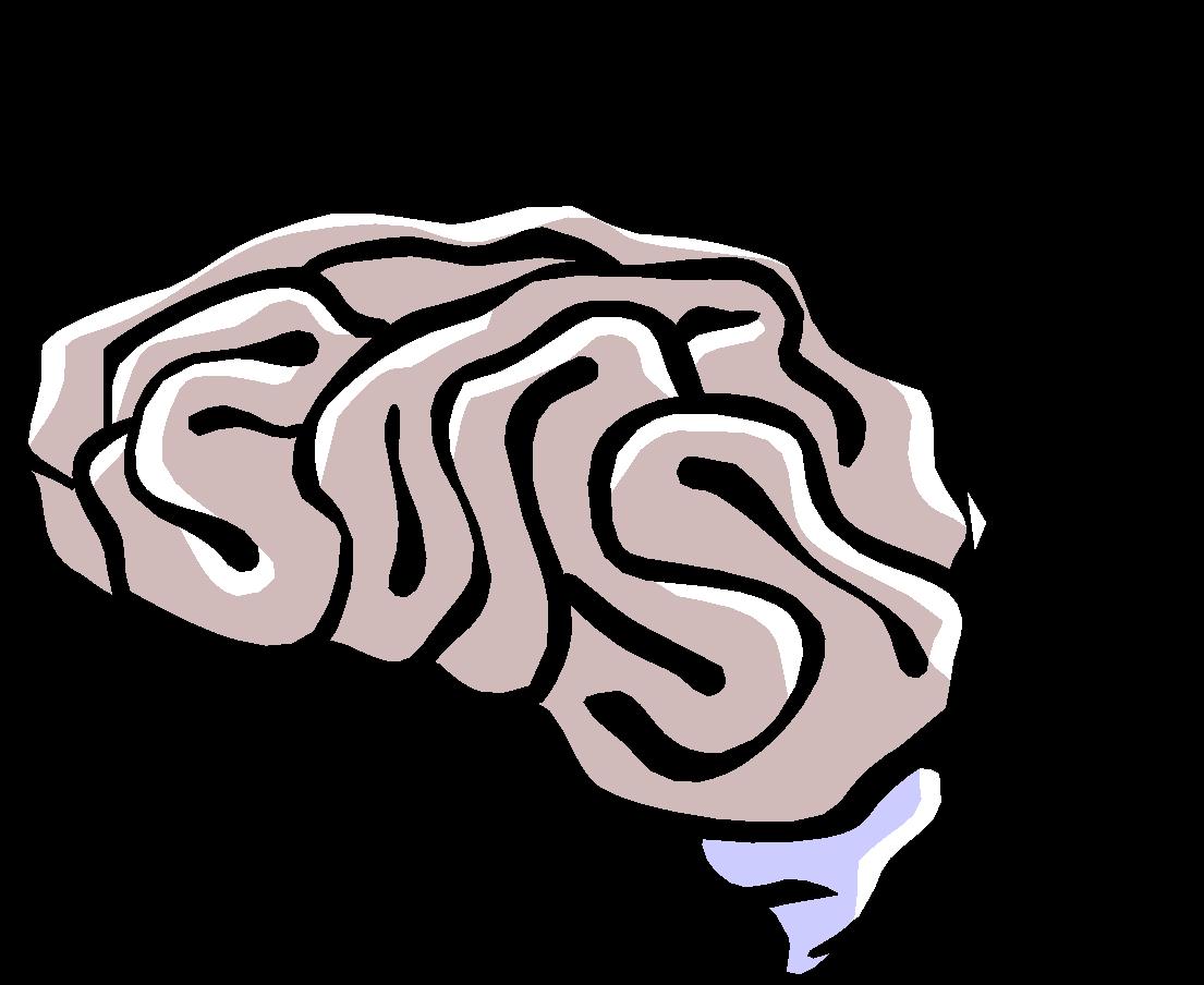 Are mobile phones dangerous. Clipart brain question