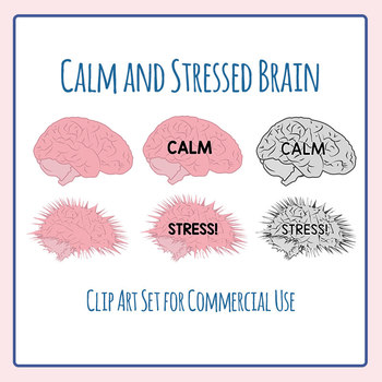 Stress clipart stressed brain. Calm and mental health