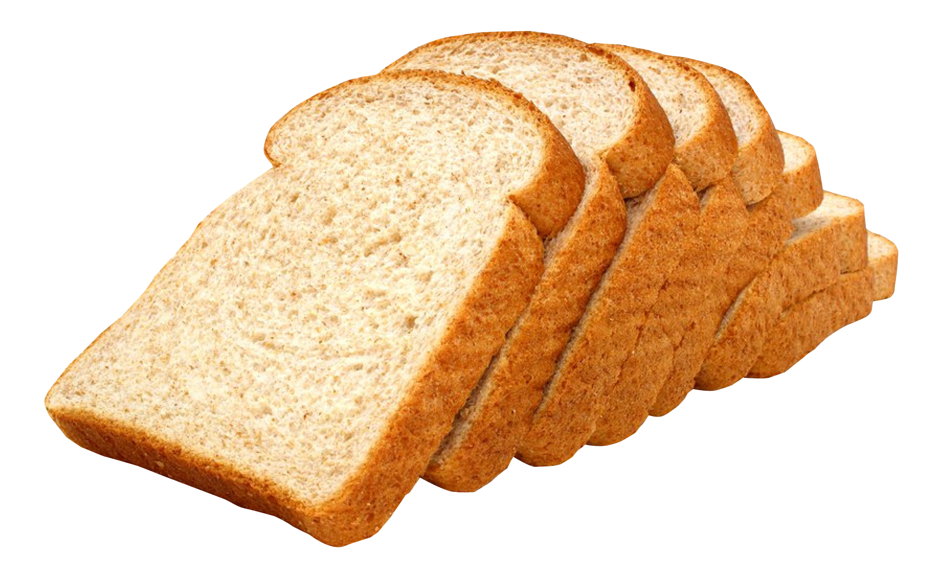 Sliced bread png image. Wheat clipart loaf
