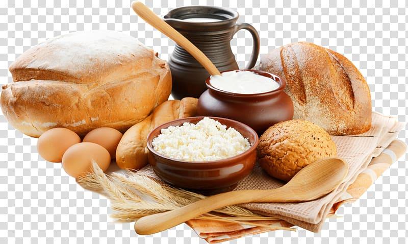 Milk chicken egg delicious. Clipart bread breakfast bread
