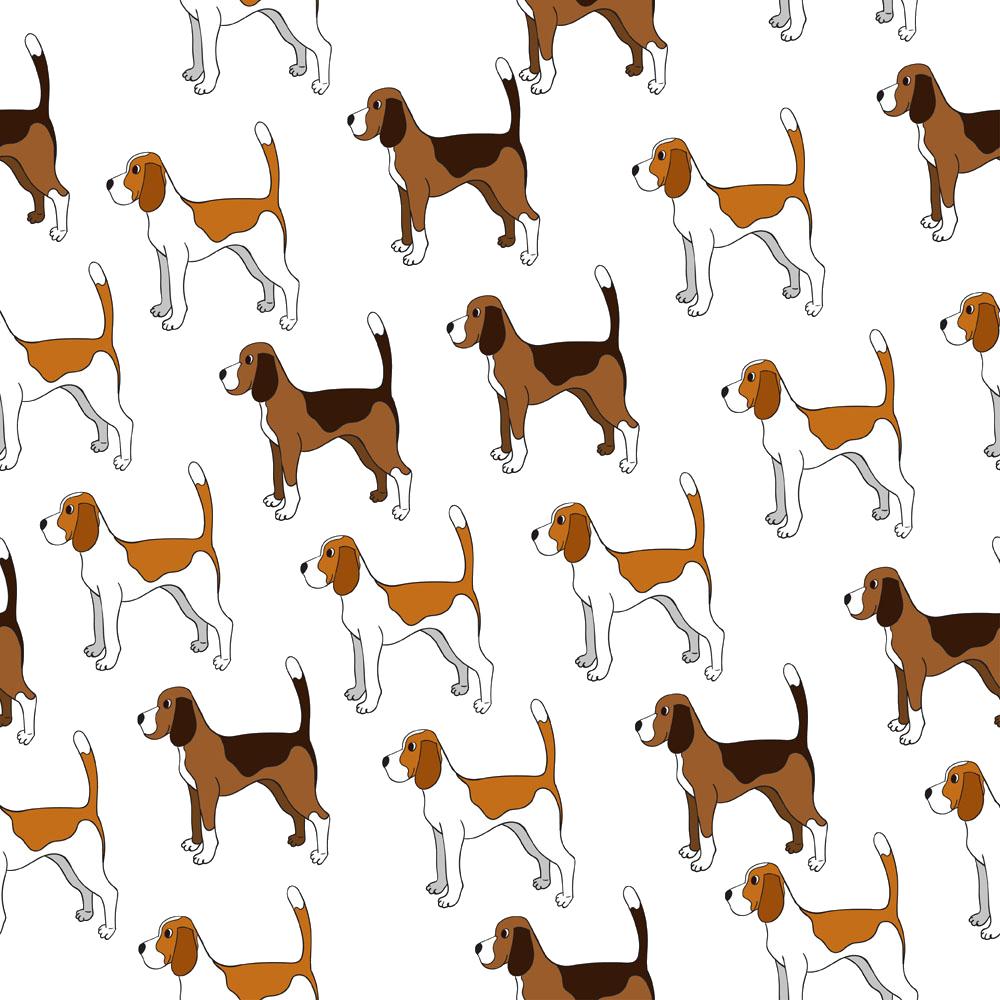 Beagle breed puppy clip. Coffee clipart dog