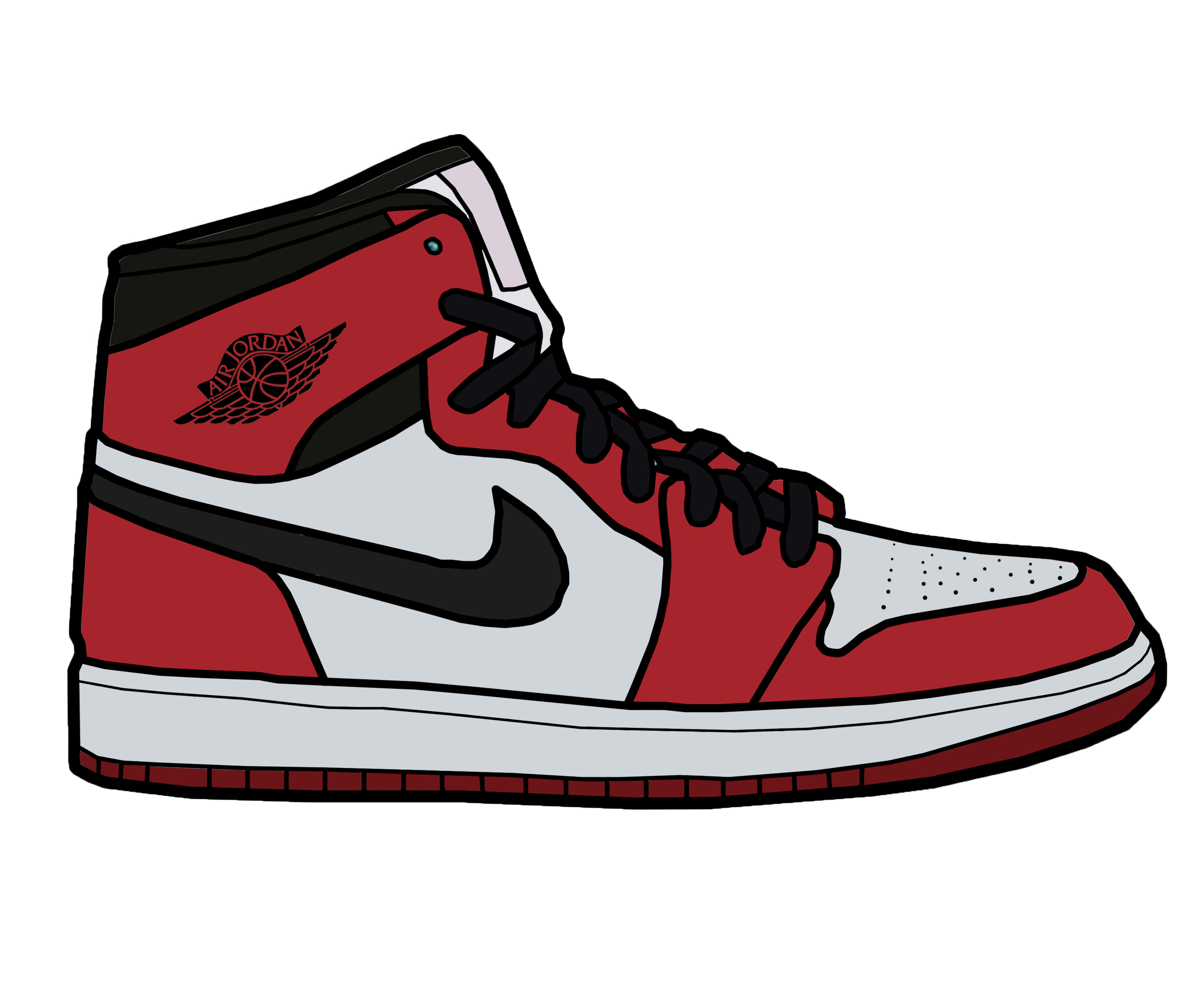 Converse clipart sneaker coloring.  collection of jordan