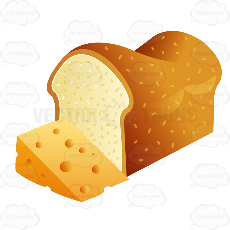 Clipart bread cheese bread. And station