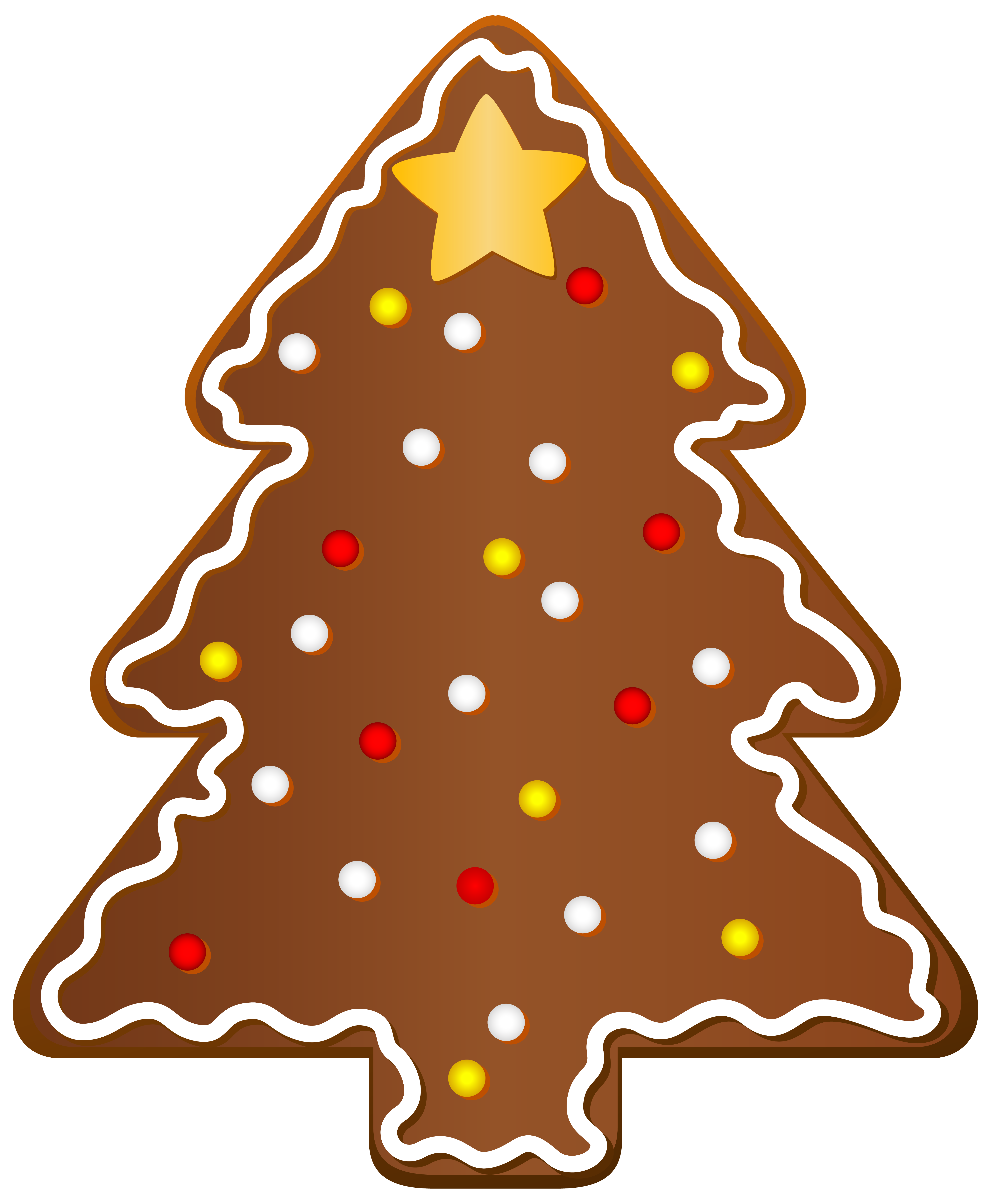 Cookie png image gallery. Gingerbread clipart christmas tree