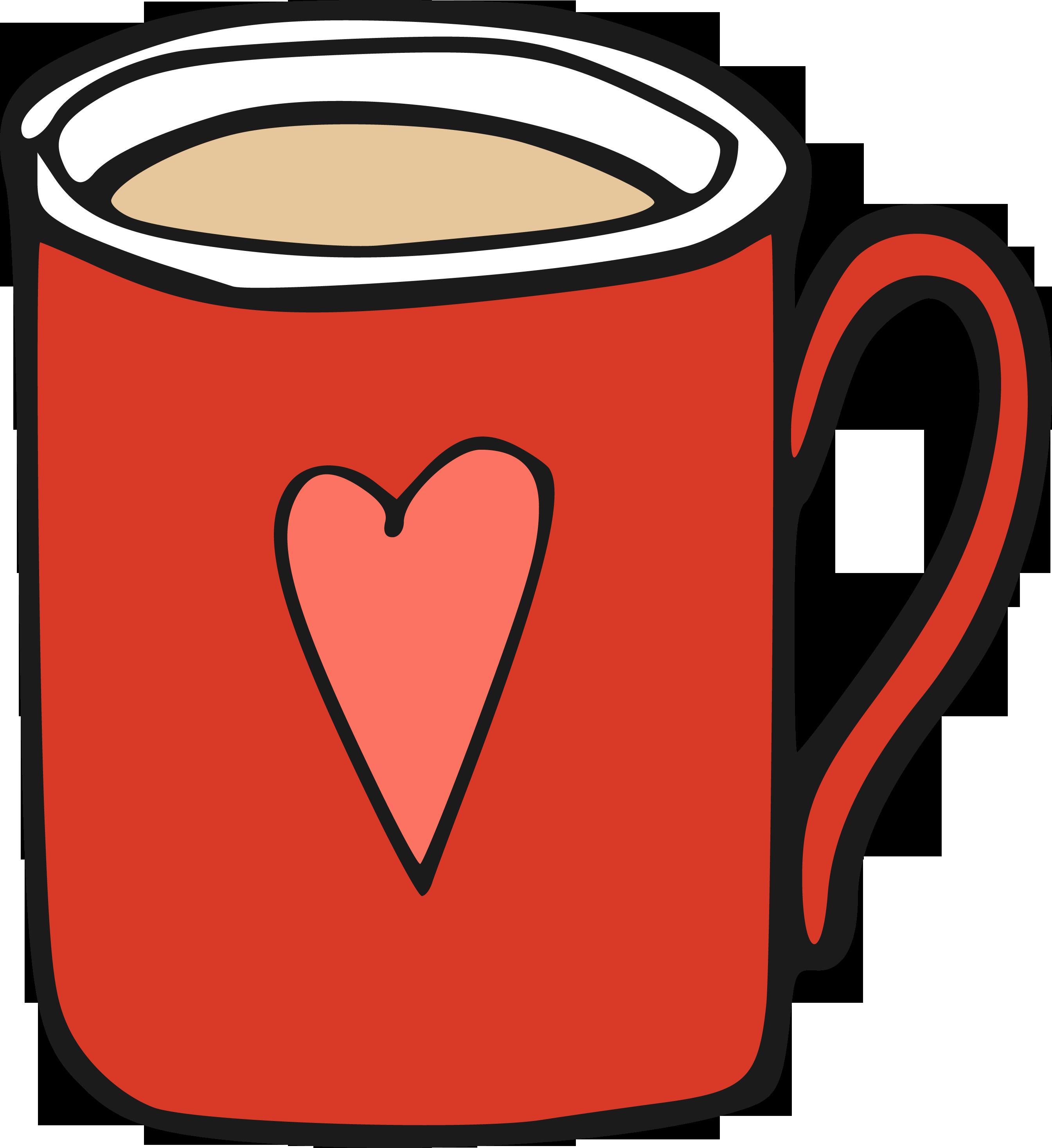 Clipart coffee bagels. Cup mug clip art