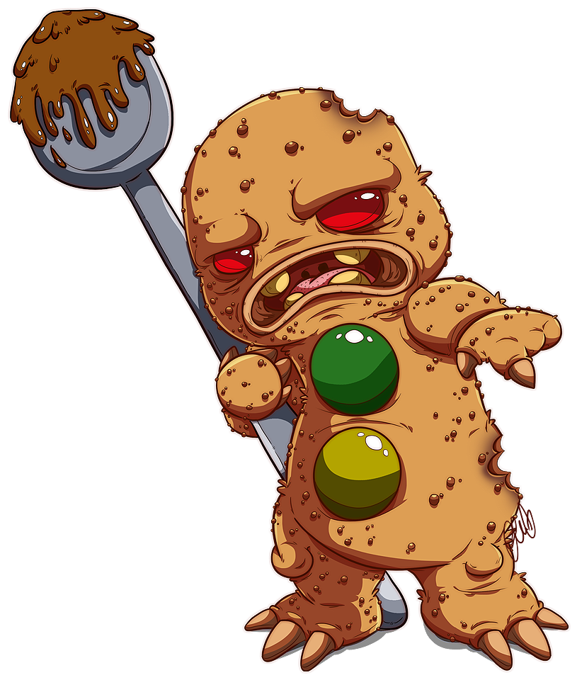 Ginger bread man drawing. Gingerbread clipart easy