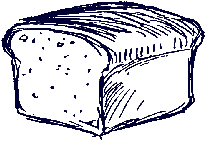 collection of bread. Wheat clipart loaf