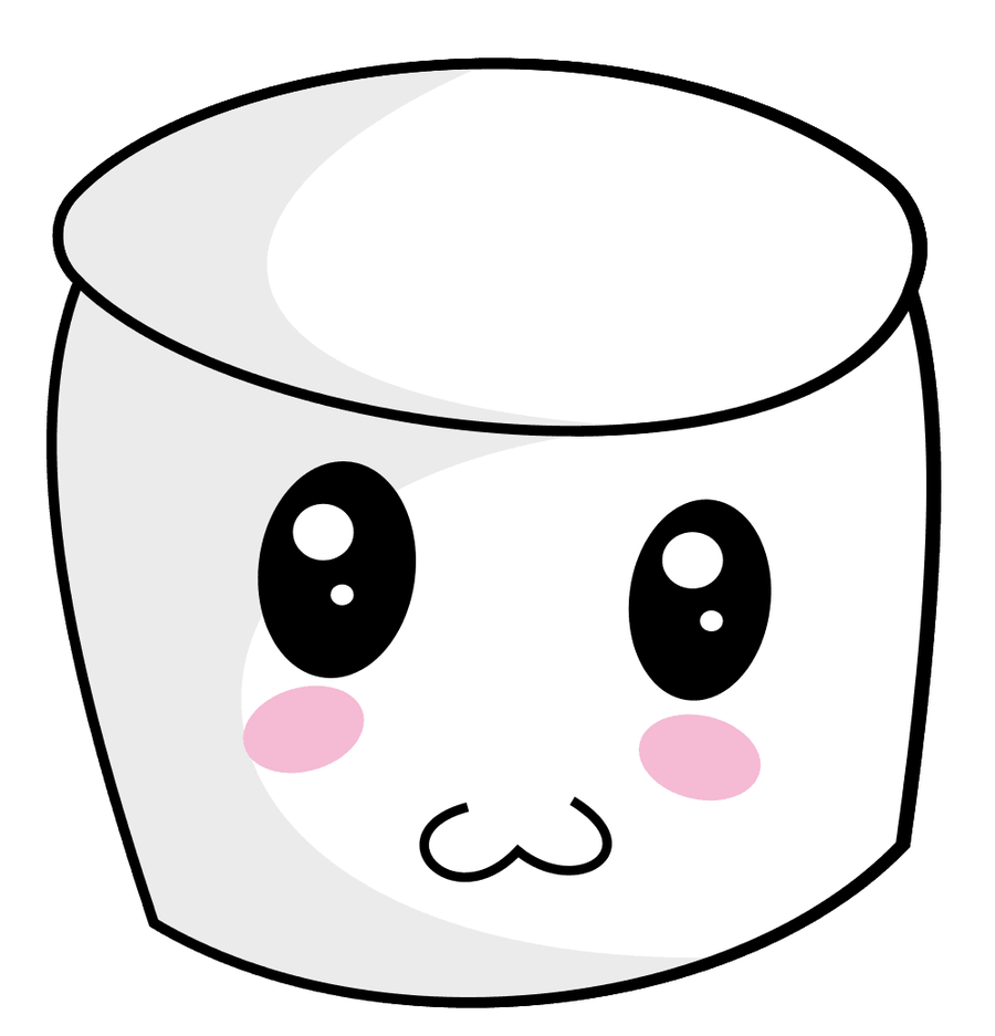 Clipart bread cute. Face