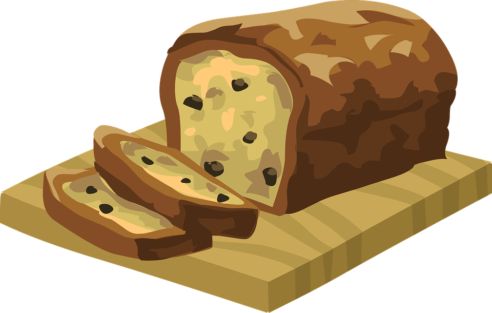 clipart bread cute