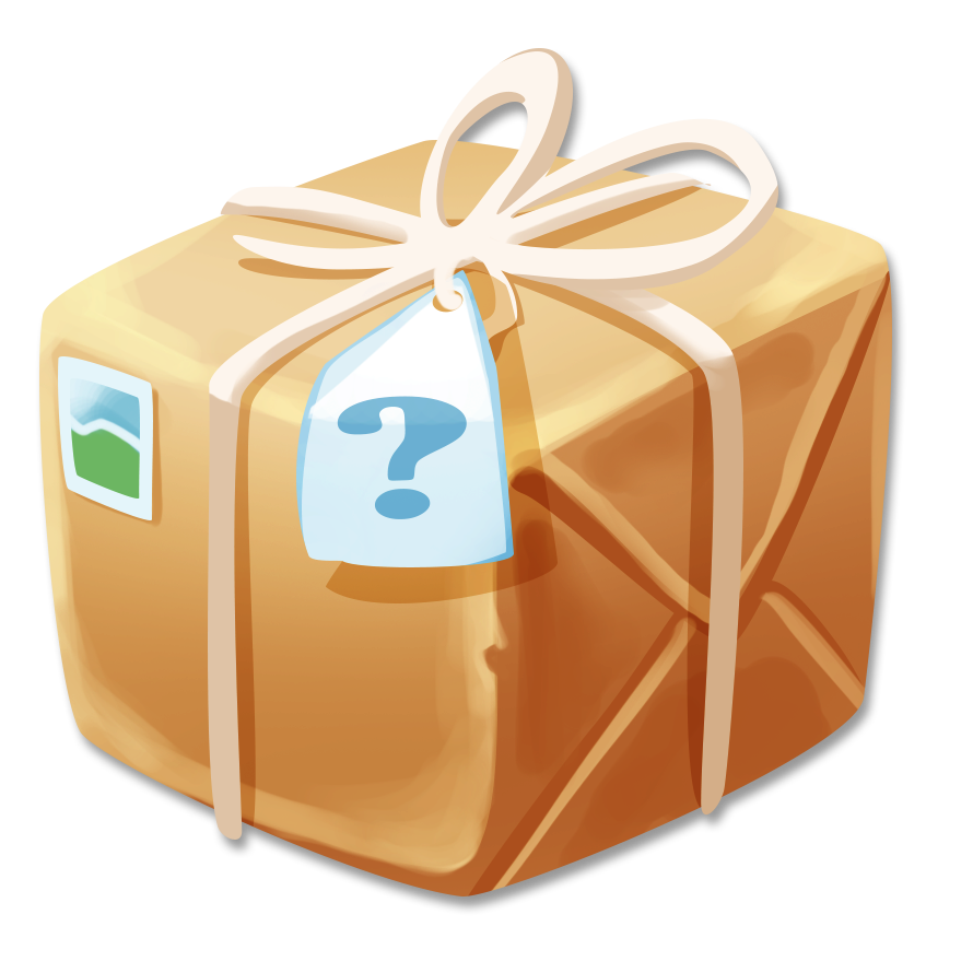 Clipart bread day. Image small mystery package