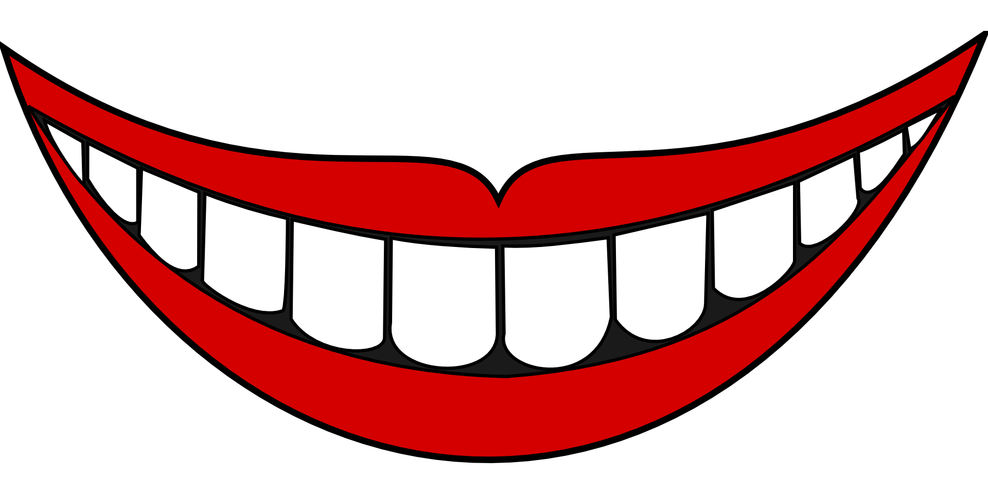 Smiley clip art mouth. Clipart bread face