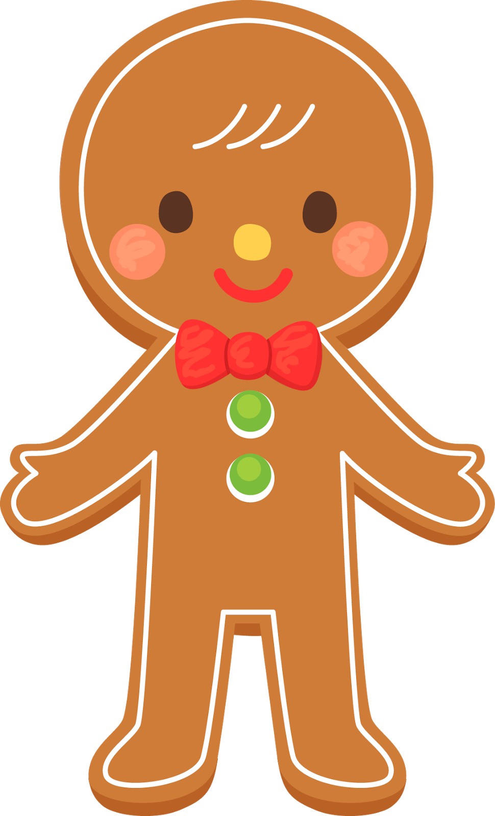 Deer clipart kid. Free gingerbread man cliparts