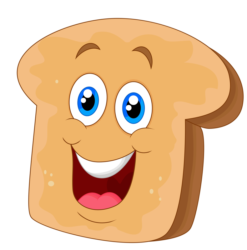 Free on dumielauxepices net. Clipart bread face