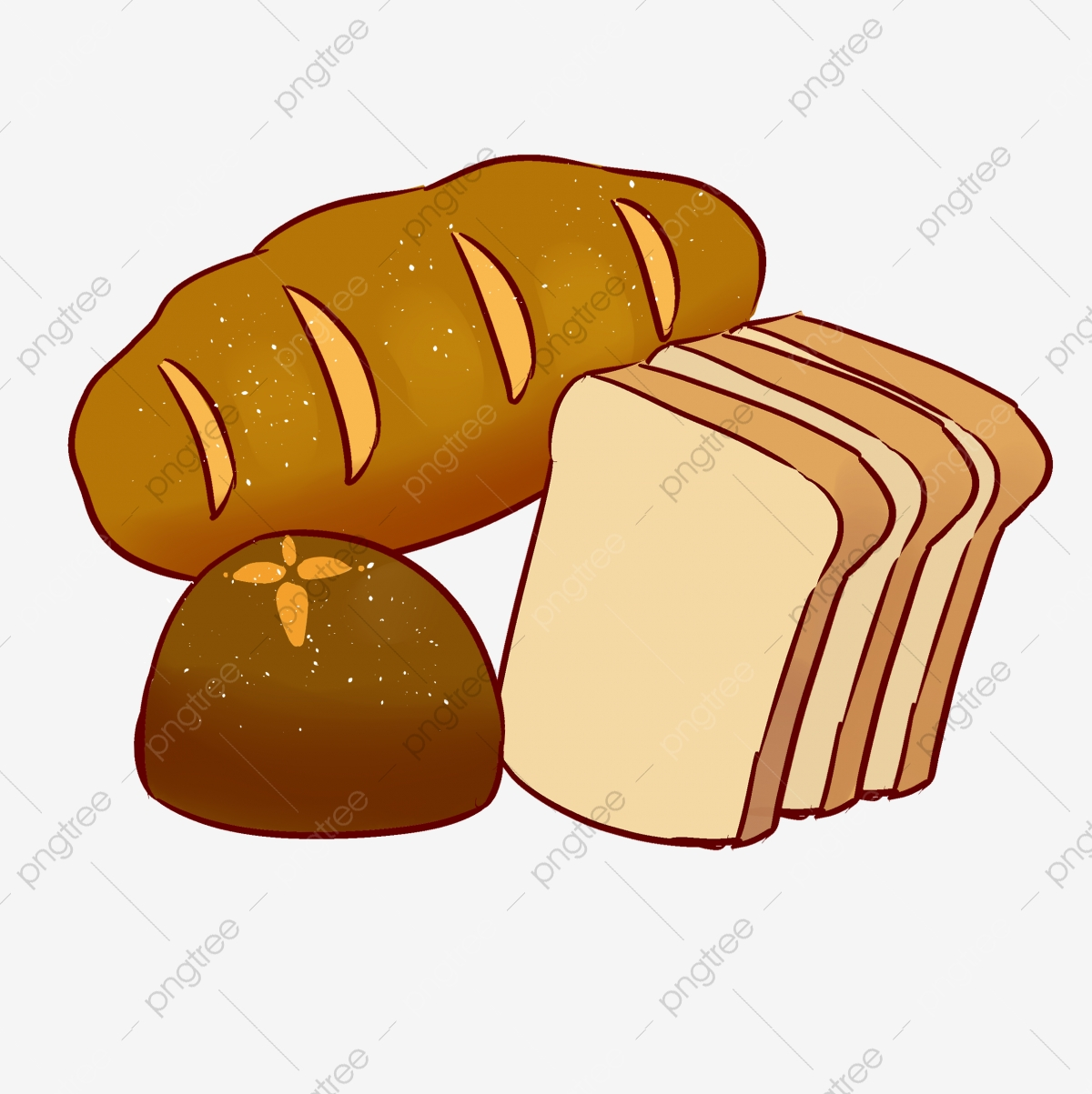 Bakery logo image health. Clipart bread file