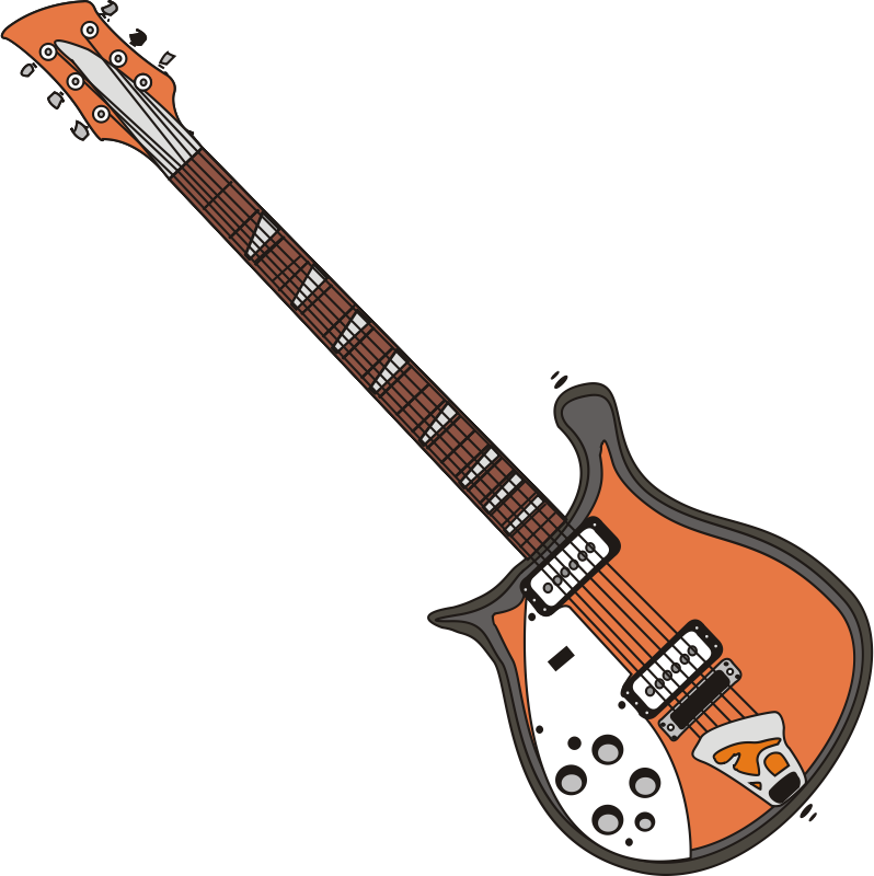 Mic gambar free on. Clipart guitar eletric