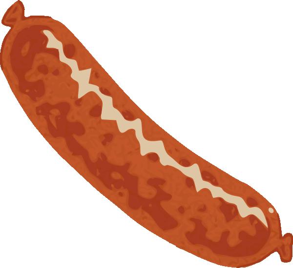 Sausage clip art at. Clipart bread gambar