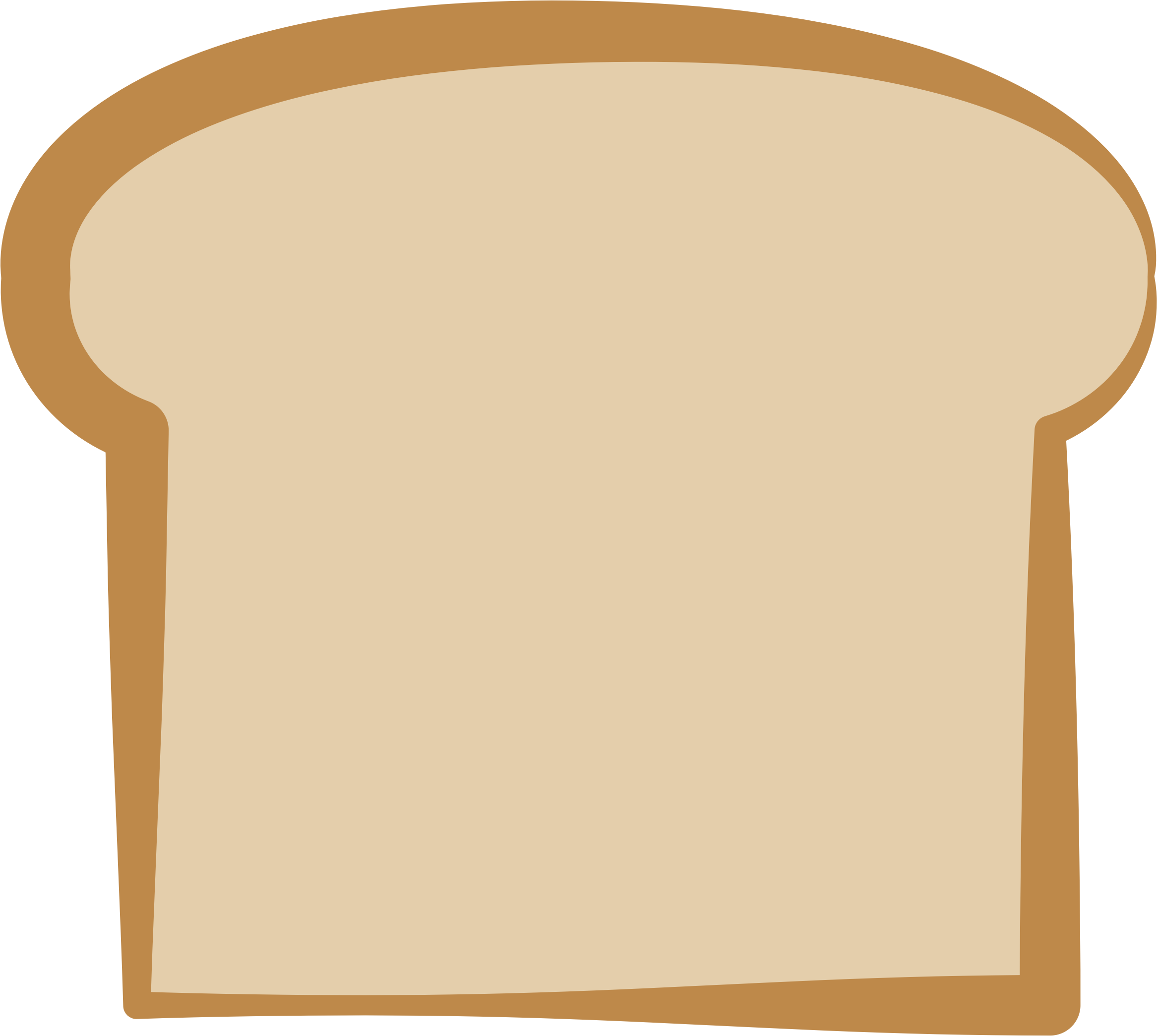 Bread big image png. Square clipart toast