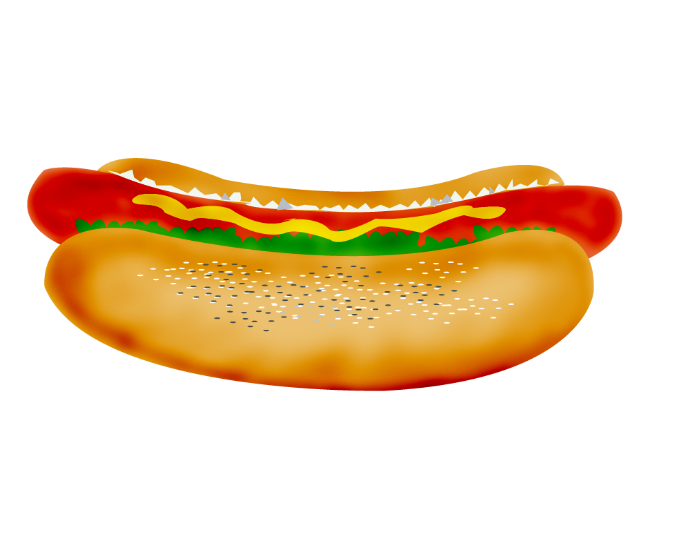 Hamburger clipart printable. Hot dog cookout clip