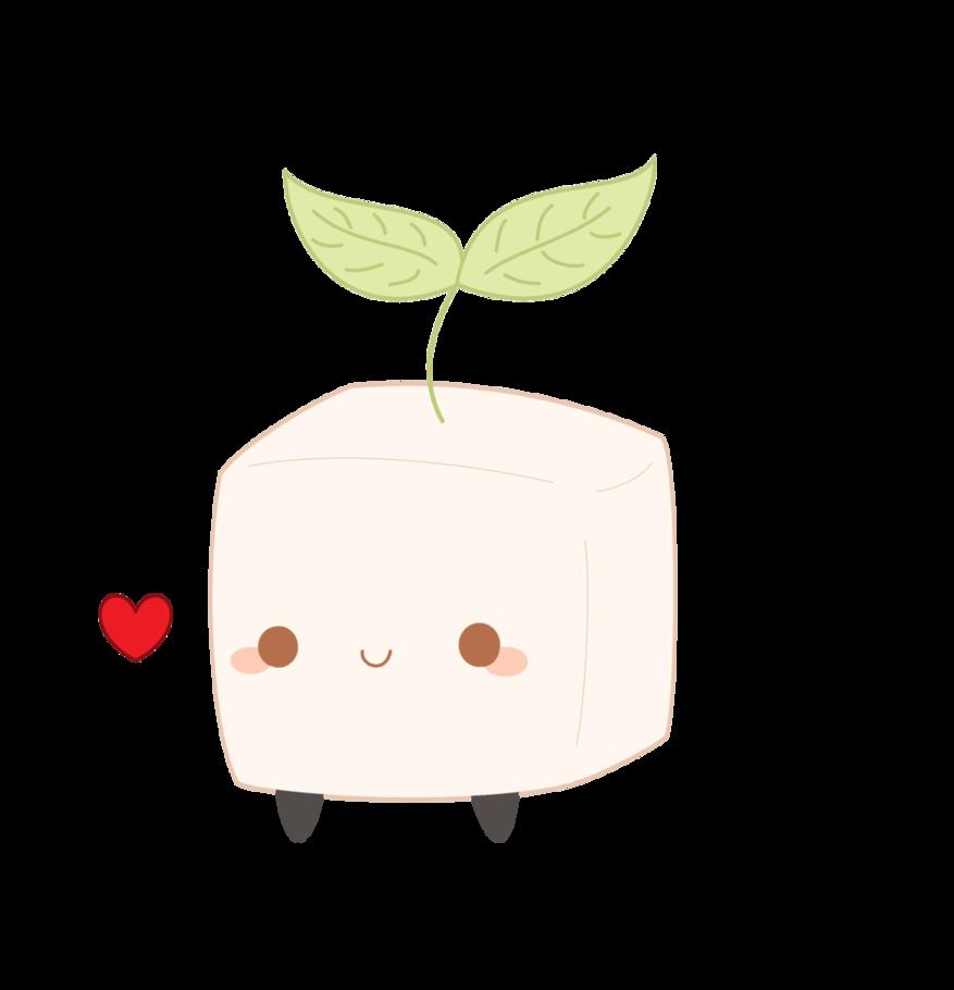 Clipart bread kawaii. Cute tofu project pinterest