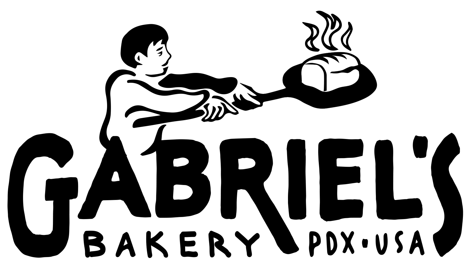 Clipart bread logo. Gabriel s bakery for