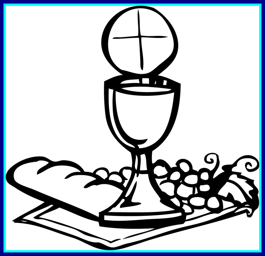 Holy communion coloring pages. Clipart phone marvelous