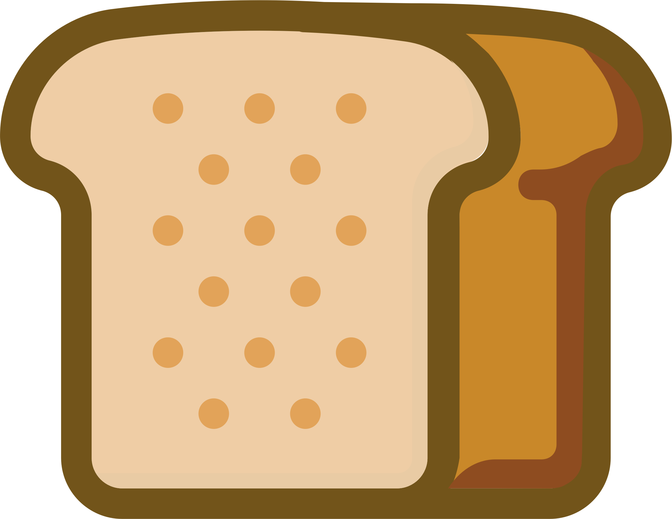 Our daily big image. Clipart bread package