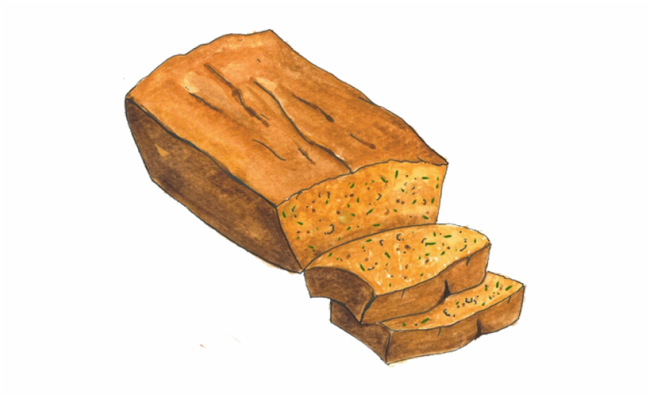 Clipart bread package. Clip art banana nut