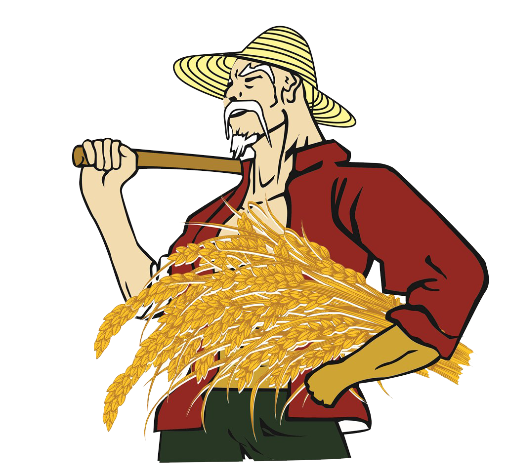 Farmer clip art rice. Farmers clipart harvest