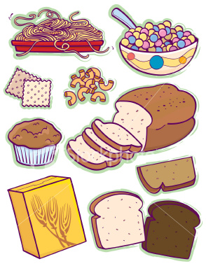clipartlook. Grains clipart bread cereal rice pasta group