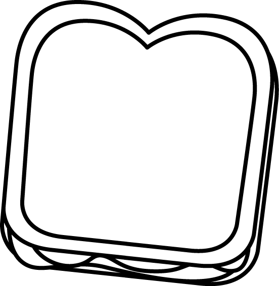 Clipart bread sandwhich. Peanut butter and jelly