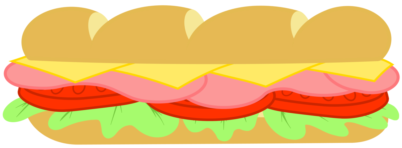 collection of subway. Clipart bread sandwhich