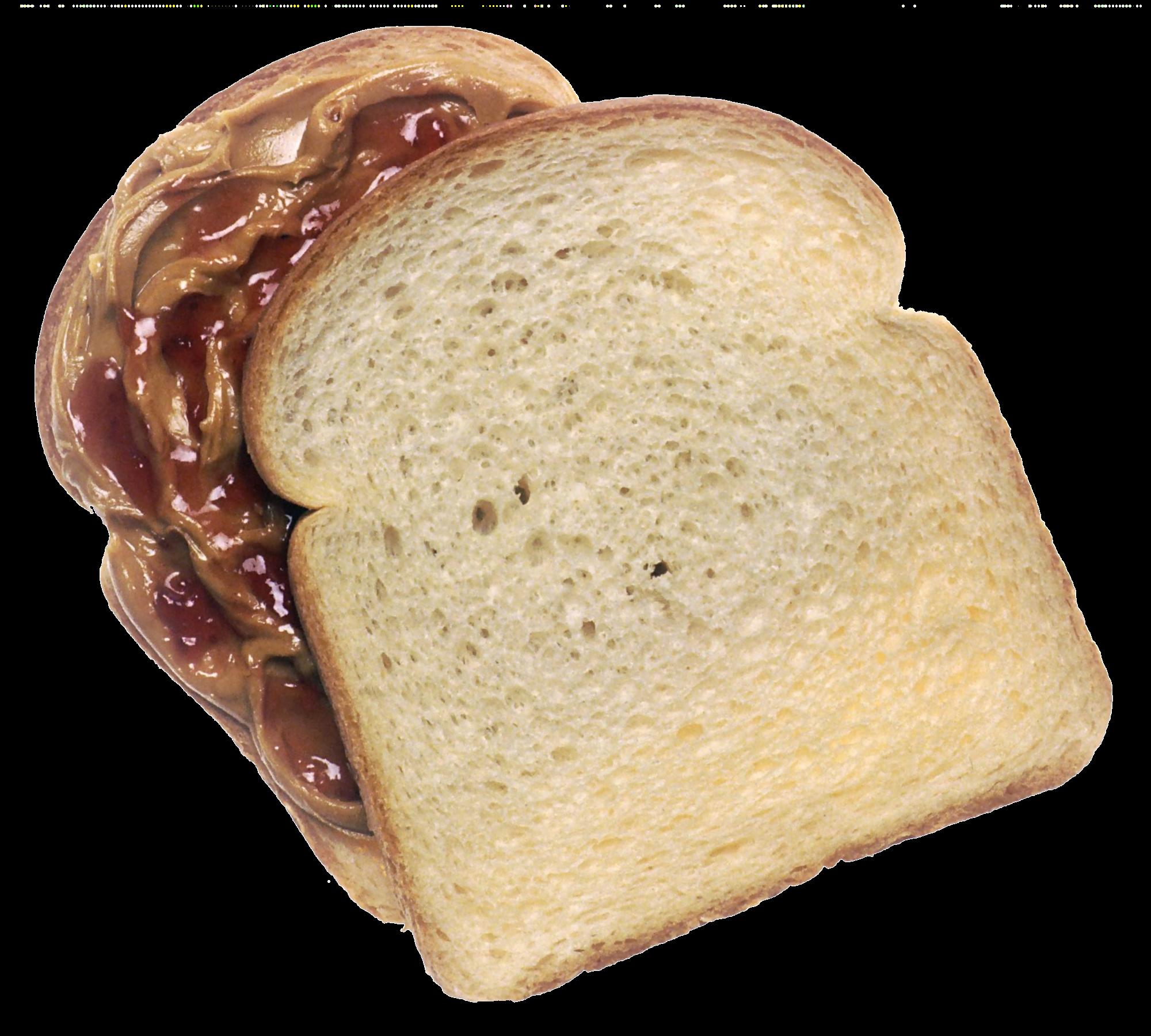 Clipart bread sandwich bread. File pbj png wikimedia