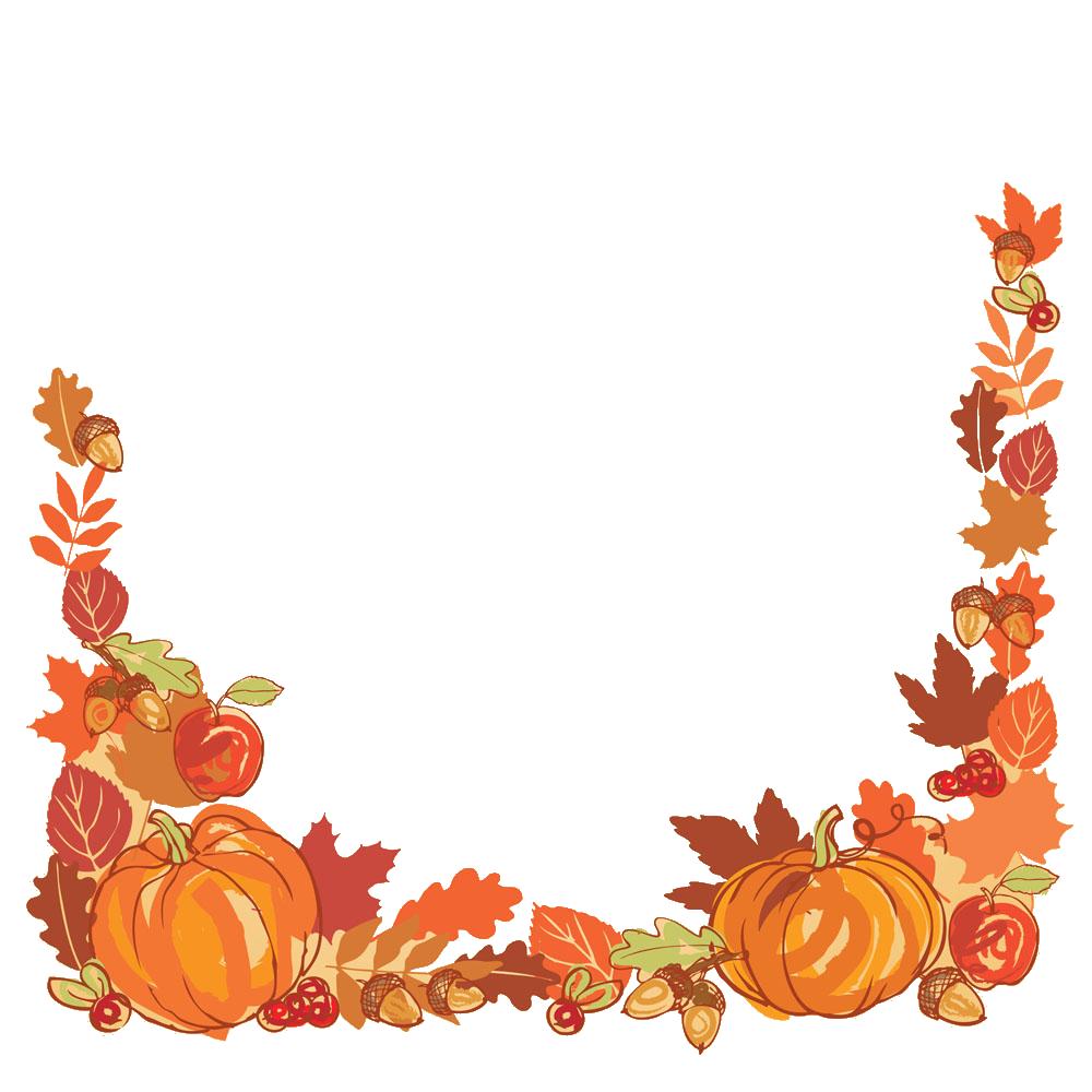 clipart pumpkin floral
