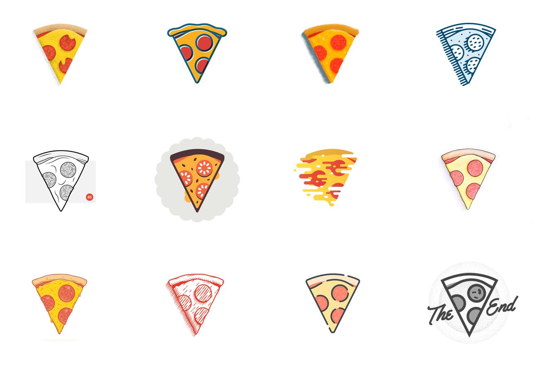 Pizza pattern design patterns. Clipart bread triangle