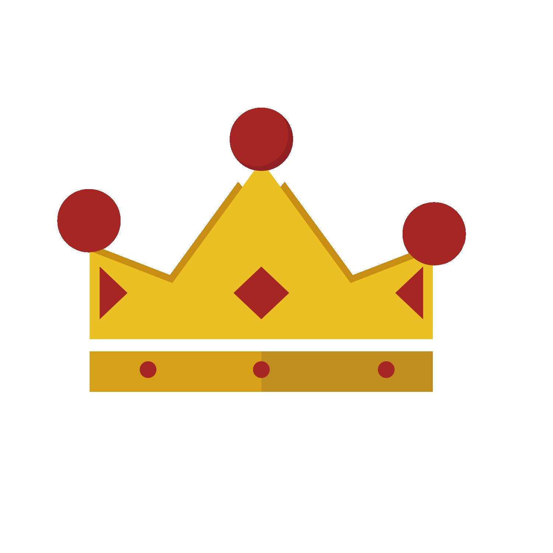 Crown coroa vermelha red. Clipart bread triangle
