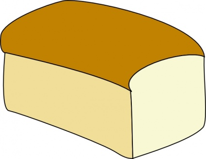 clipart bread vector
