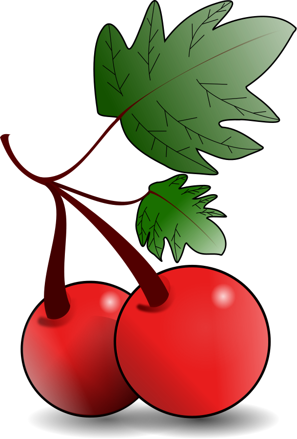 Free images of download. Fruits clipart cute